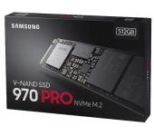 Ổ cứng SSD Samsung 970 Pro 512Gb PCIe 3.0x4, NVMe