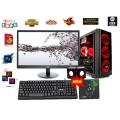 Bộ PC cũ H81/I5 4460/RAM 16G/SSD 120G/HDD 500G/GTX 1050TI/24IN