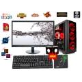 Bộ PC cũ H81/I3 4150/RAM 8G/HDD 1000G/GT 730 /24IN