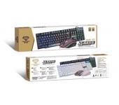 Bộ bàn phím giả cơ và chuột có dây Divipard GMK-50