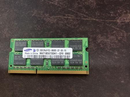 ram ddr3 2g buss 1066 laptop