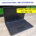 Laptop Cũ Dell Latitude E7250 : core i5-5300u / 4gb / ssd 128gb / 12.5 inch
