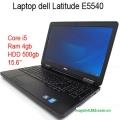 Laptop cũ Dell Latitude E5540 : i5-4300u / 4gb / hdd 320gb / 15.6 inch