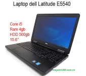 Laptop cũ Dell Latitude E5540 : i5-4300u / 4gb / hdd 320gb / 15.6 inch
