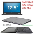 Laptop Dell Latitude E7240 cũ :core i5-4300u / 4gb / ssd 128gb / 12.5 inch
