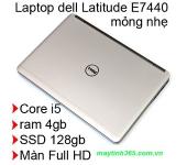Laptop cũ Dell Latitude E7440 : i5-4300u / 4gb / ssd 128gb / 14.0 inch