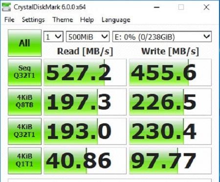 ổ cứng ssd lexar 240g chính hãng