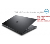 Laptop cũ Dell Inspiron N3542 (Core i3-4005U, RAM 4GB, HDD 500GB, VGA Intel HD Graphics 4400, 15.6 inch)