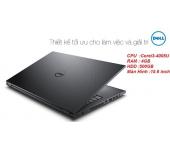 Laptop cũ Dell Inspiron N3542 (Core i3-4005U, RAM 4GB, HDD 500GB, VGA Intel HD Graphics 4400, 15.6 inch)