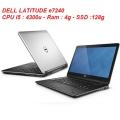 LAPTOP CŨ DELL LATITUDE e7240 i5-4300/4g/SSD128g