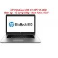 LAPTOP CŨ HP Elitebook 850 G1 i5/4300/4g/500g/15.6''