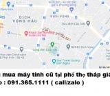 Thu mua máy tính cũ tại phố Thọ Tháp giá cao nhất 0913651111