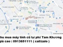 Thu mua máy tính cũ tại phố Tam Khương 0913651111