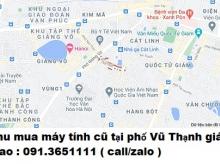 Thu mua máy tính cũ tại phố Vũ Thạnh 0913651111