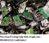 Thu mua ổ cứng máy tính cũ giá cao