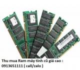 Thu mua Ram máy tính cũ giá cao