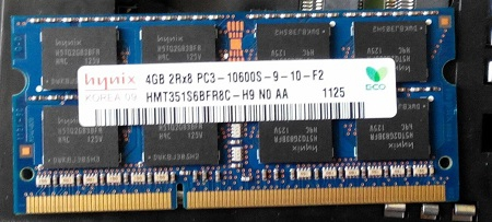 Ram laptop ddr3 4g buss 1333