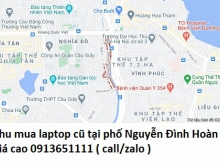Thu mua laptop cũ tại phố Nguyễn Đình Hoàn 0913651111