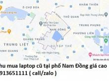 Thu mua laptop cũ tại phố Nam Đồng 0913651111