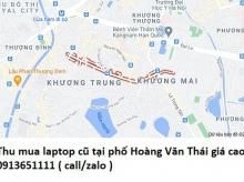 Thu mua laptop cũ tại phố Hoàng Văn Thái 0913651111