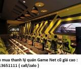 Thu mua quán Game Net giá cao 0913651111