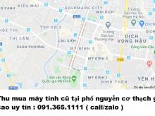 Thu mua máy tính cũ tại phố nguyễn cơ thạch giá cao nhất 0913651111