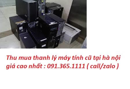 thu mua máy tính cũ tại hà nội giá cao